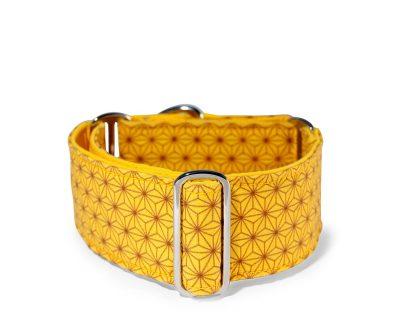 Collar Mtg: Collar Martingale Andrónico amarillo