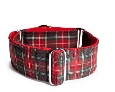 Collar Mtg: Collar Martingale Tartán Scottish